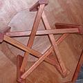A pentagonal table by Bob Mackay [2]