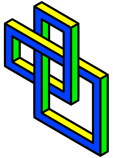 Impossible trefoil knot Isometric.png
