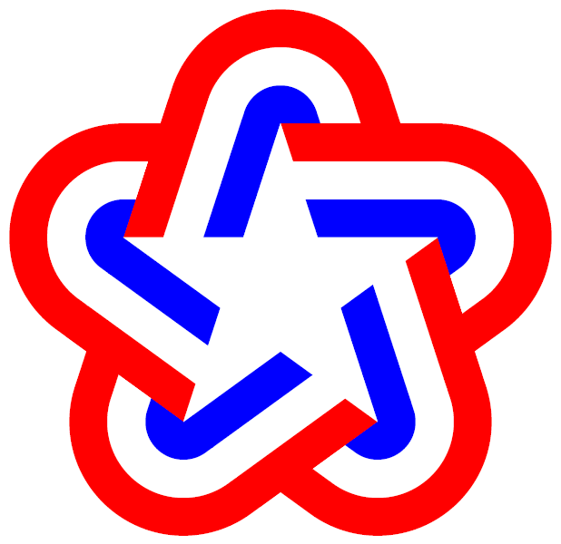 United States Bicentennial star 1976 (geometry).png