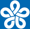 Emblem of Fukuoka prefecture, Japan