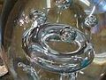 A toroidal bubble in glass [2]